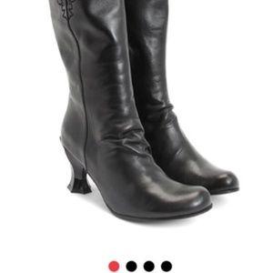 Boots Fluevog Baroque couronnes